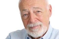 Älterer Mann - Klugheit Lizenzfreie Stockbilder