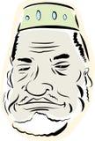 Älterer moslemischer Mann Stockbild