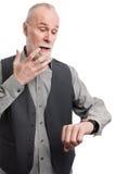 Älterer ohne Zeit Lizenzfreie Stockfotografie