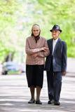 Älterer Paarlebensstil Stockbilder