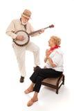 Älterer Serenade Stockfotos