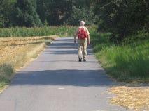 Älterer Wanderer lizenzfreie stockfotos