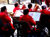Älteres Big Band Lizenzfreie Stockfotografie