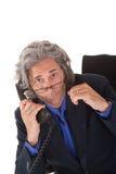 Älteres buisinessman Lizenzfreies Stockfoto