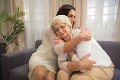 Älteres emotionales Lizenzfreies Stockfoto