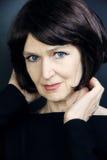 Älteres Frauenporträt Stockfoto