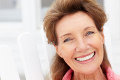 Älteres Frauenportrait Stockbilder