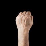Älteres hand3 Lizenzfreies Stockfoto