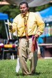 Älteres Kürbistanzen des amerikanischen Ureinwohners Lizenzfreie Stockfotos