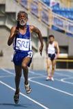 Älteres Leichtathletikspiel stockfotos