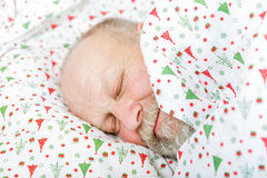 Älteres Mannschlafen Stockfoto