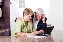 Älteres Paarsorgen Lizenzfreies Stockbild