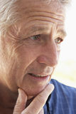 Älteres Portrait eines Mannes lizenzfreies stockbild
