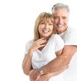 Älterpaare Stockfoto