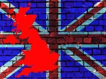 Ämnen till Förenade kungariket (bakgrund) stock illustrationer
