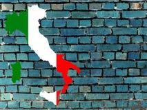 Ämnen till Italien (bakgrund) vektor illustrationer