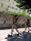 Ändern der Abdeckung in Athen stockfotografie