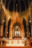 Ändern Sie Kathedrale an der Str.-Patricks, NYC Stockbild