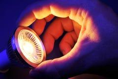 Ändern Sie LED lizenzfreies stockfoto