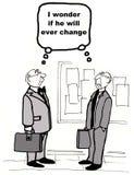 Ändern Sie Management Stockfotografie