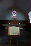 Ändern Sie von der alten Schweizer Kirche Stockfotos