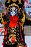 Ändernde Ausführung und Pracht des chinesischen Gesichtes Lizenzfreies Stockfoto