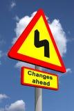 Änderungen voran stock abbildung