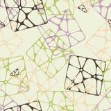 Ändlös flerfärgad abstrakt modell Royaltyfri Foto