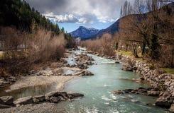 Ändlös flod royaltyfri foto