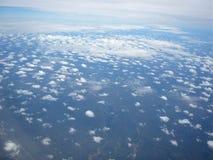 Ändlös himmelsikt Arkivbild