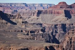 Ändlös kanjon Fotografering för Bildbyråer