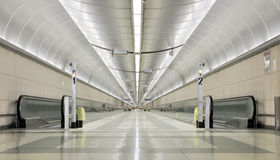 ändlös korridor arkivfoto