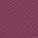 ändlös maze Arkivfoto