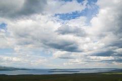 ändlös sky Arkivfoton
