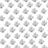 Ändlös textur för design enkel bakgrund av konturfärger royaltyfri illustrationer