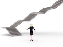 ändlös trappa vektor illustrationer