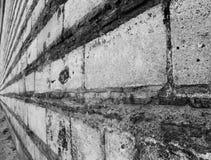Ändlös vägg royaltyfri fotografi