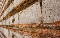 Ändlös vägg royaltyfri bild