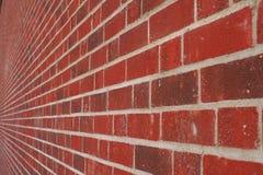 ändlös vägg för tegelsten Fotografering för Bildbyråer