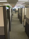 ändlösa cubicles royaltyfria foton