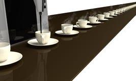 ändlöst kaffe Arkivbilder