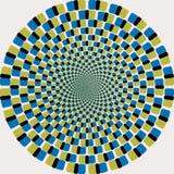 ändlöst seamless för cirkel Arkivbild