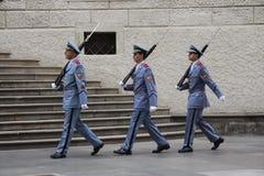 Ändra av vakten Royaltyfri Fotografi