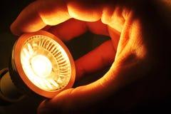 Ändra COB-LED Arkivbild
