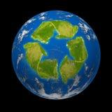 ändra globalt Arkivbild