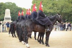 Ändra guarden royaltyfri foto