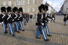 ändra kungliga guards Royaltyfria Foton