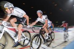 ändra leadracerspåret royaltyfri foto
