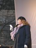 ändra un för den klimatcopenhagen demonstrationen Royaltyfri Bild