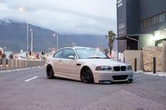 Ändrade BMW M3 E46 royaltyfri bild